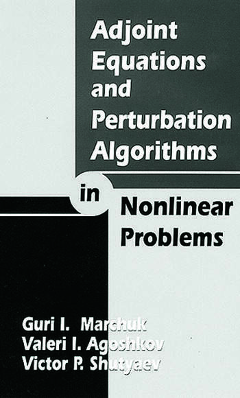 Adjoint Equations and Perturbation Algorithms in Nonlinear Problems book cover