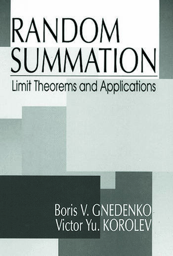Random Summation Limit Theorems and Applications book cover