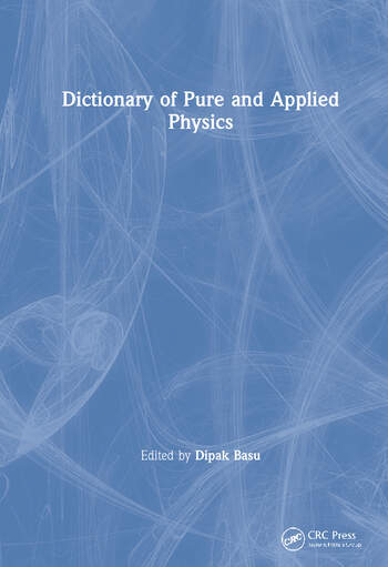 Dictionary of Pure and Applied Physics book cover