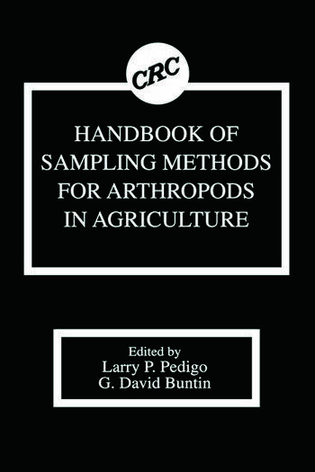 Handbook of Sampling Methods for Arthropods in Agriculture book cover