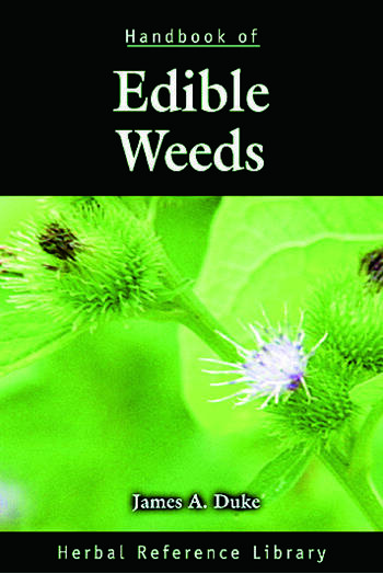 Handbook of Edible Weeds Herbal Reference Library book cover