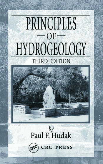 Principles of Hydrogeology book cover