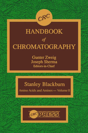 CRC Handbook of Chromatography Amino Acids and Amines, Volume II book cover