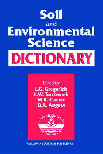 Soil and Environmental Science Dictionary book cover