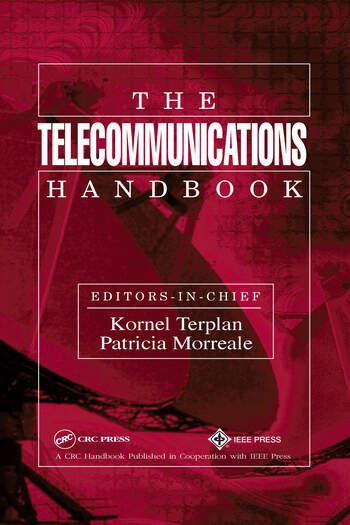 The Telecommunications Handbook book cover