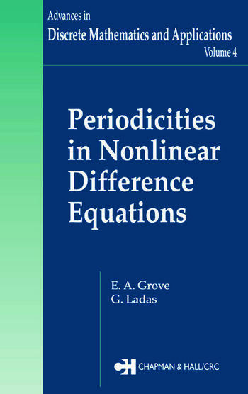 Periodicities in Nonlinear Difference Equations book cover
