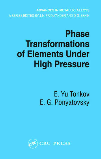 Phase Transformations of Elements Under High Pressure book cover