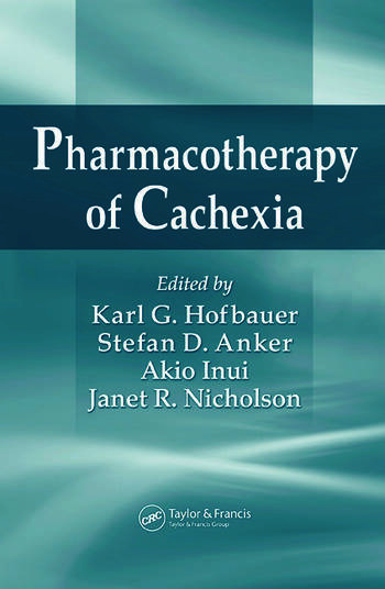 Pharmacotherapy of Cachexia book cover