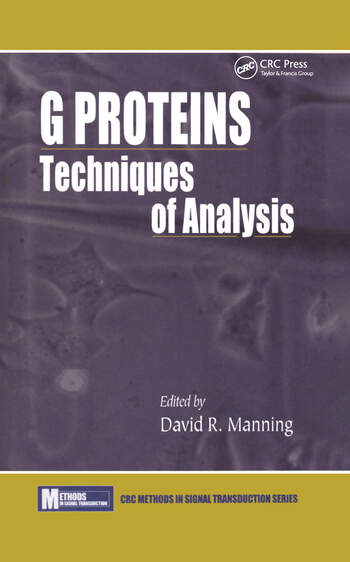 G ProteinsTechniques of Analysis book cover