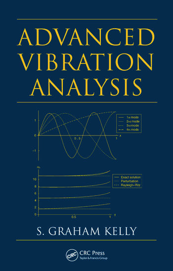 Advanced Vibration Analysis book cover