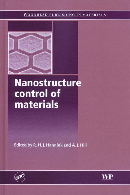 Nanostructure control of materials book cover