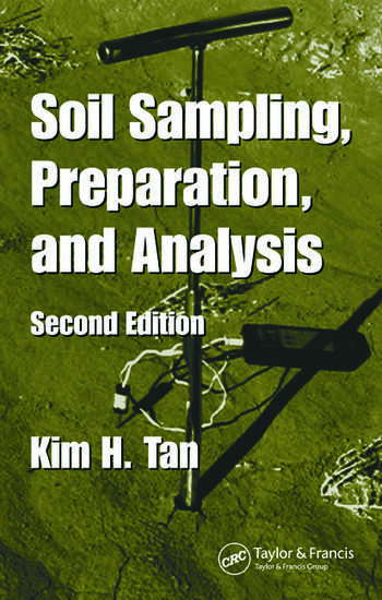 Soil Sampling, Preparation, and Analysis book cover