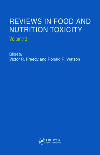 Reviews in Food and Nutrition Toxicity, Volume 3 book cover