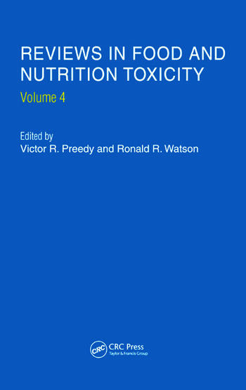 Reviews in Food and Nutrition Toxicity, Volume 4 book cover