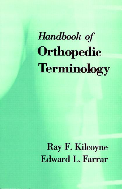 CRC Handbook of Orthopaedic Terminology book cover