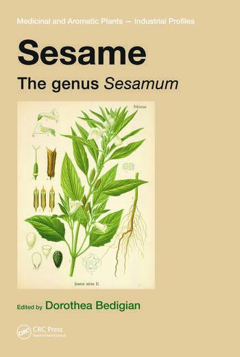 Sesame The genus Sesamum book cover