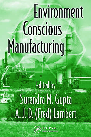 Environment Conscious Manufacturing book cover