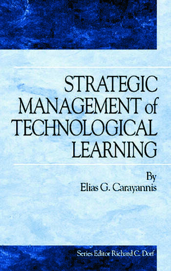 Strategic Management of Technological Learning book cover