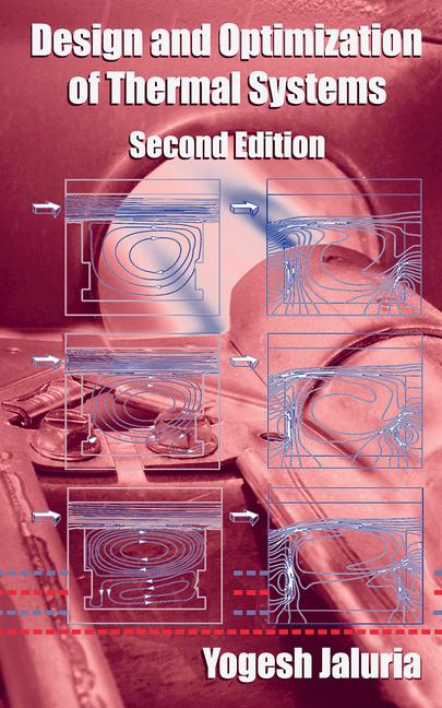 Design and Optimization of Thermal Systems book cover