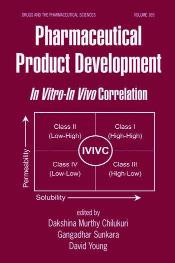 Pharmaceutical Product Development In Vitro-In Vivo Correlation book cover