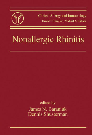 Nonallergic Rhinitis book cover