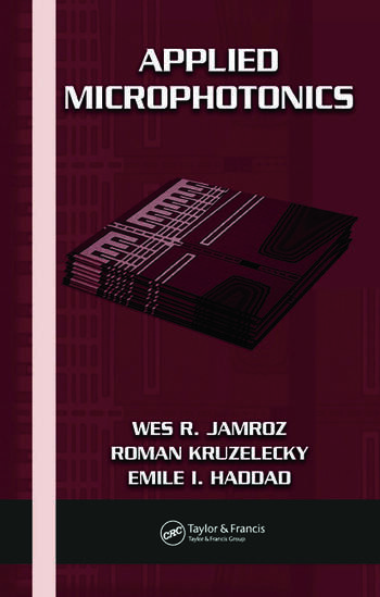 Applied Microphotonics book cover