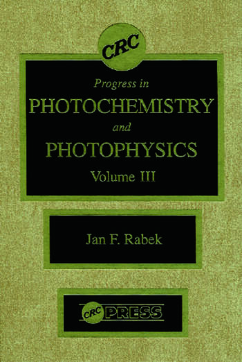 Photochemistry and Photophysics, Volume III book cover