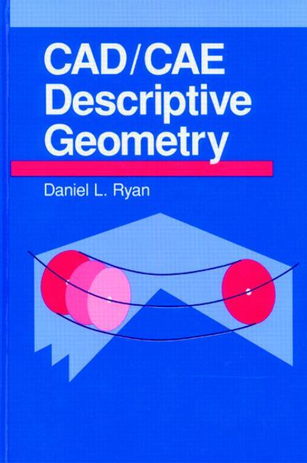 CAD/CAE Descriptive Geometry book cover