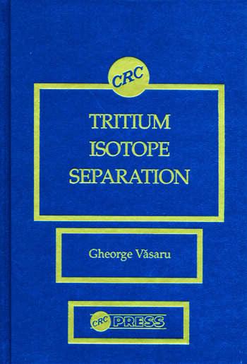 Tritium Isotope Separation book cover