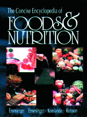 The Concise Encyclopedia of Foods & Nutrition book cover