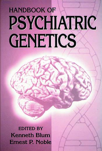 Handbook of Psychiatric Genetics book cover