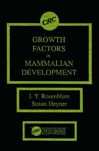 Growth Factors in Mammalian Development book cover