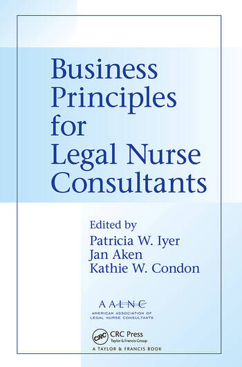 Business Principles for Legal Nurse Consultants book cover