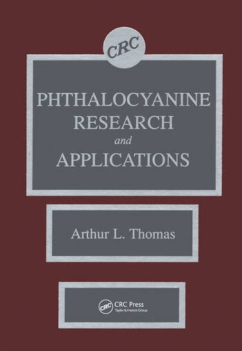 Phthalocyanine Research and Applications book cover