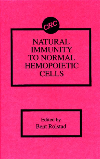 Natural Immunity to Normal Hemopoietic Cells book cover