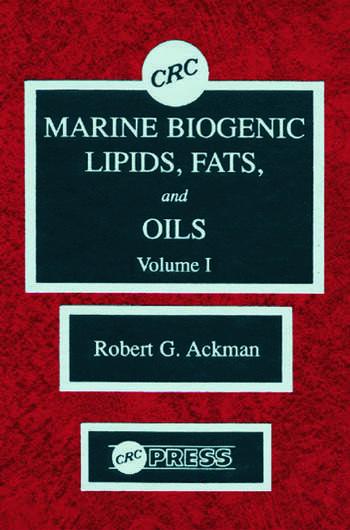 Marine Biogenic Lipids, Fats & Oils, Volume I book cover