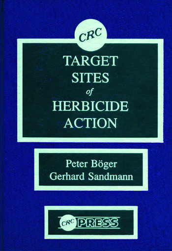 Target Sites of Herbicide Action book cover