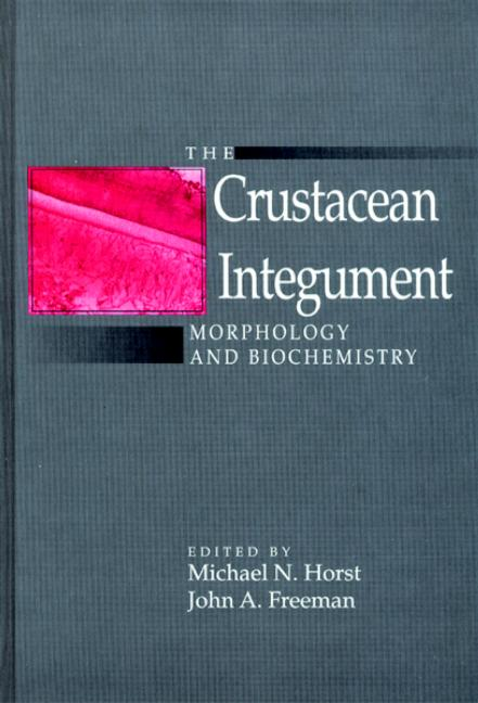 The Crustacean Integument Morphology and Biochemistry book cover