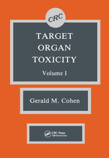 Target Organ Toxicity, Volume I book cover
