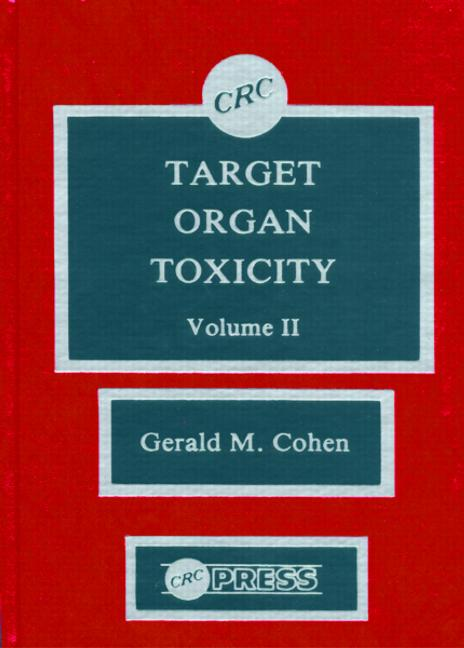 Target Organ Toxicity, Volume II book cover