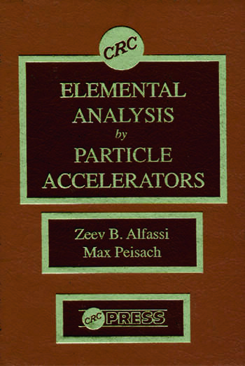 Elemental Analysis by Particle Accelerators book cover