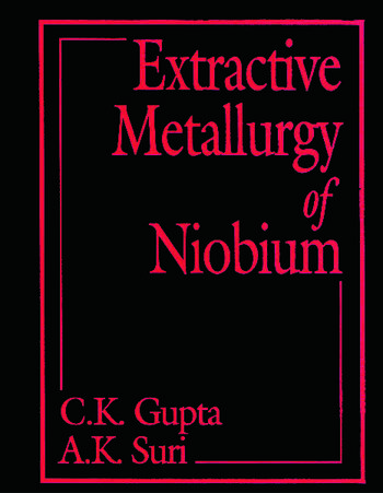 Extractive Metallurgy of Niobium book cover