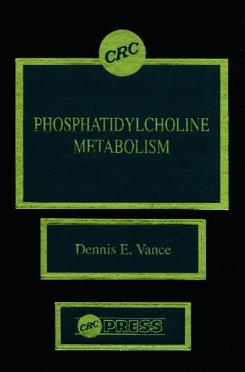 Phosphatidylcholine Metabolism book cover