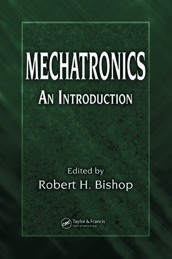 Mechatronics An Introduction book cover