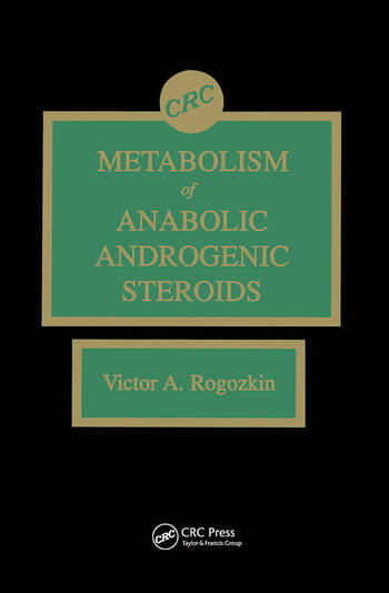 Metabolism of Anabolic-Androgenic Steroids book cover