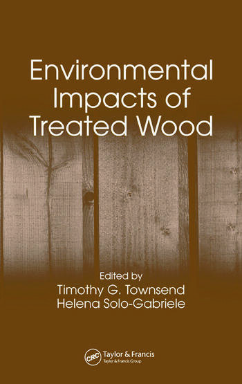 Environmental Impacts of Treated Wood book cover