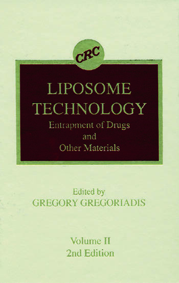 Liposome Technology, Second Edition, Volume II book cover
