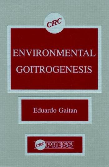 Environmental Goitrogenesis book cover