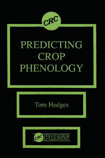 Predicting Crop Phenology book cover