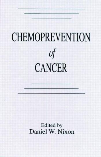 Chemoprevention of Cancer book cover